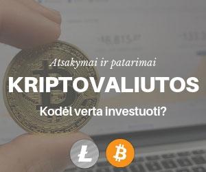 Kodėl Verta Investuoti į Kriptovaliutas?