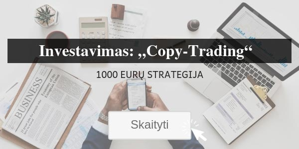 Investavimas Copy-Trading Strategija