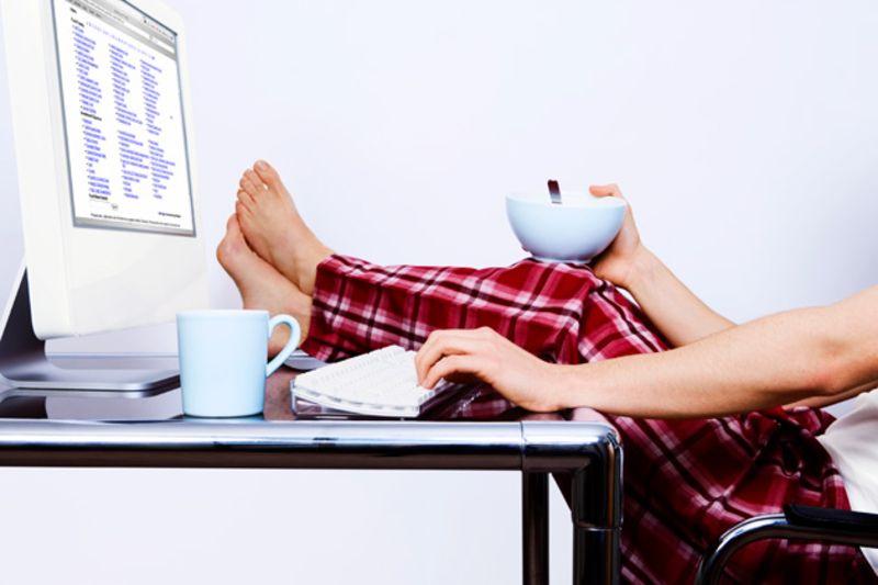 Vienatvė Darbas Namuose