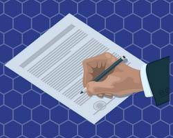 Sutarties pasirašymas dirbant užsienyje