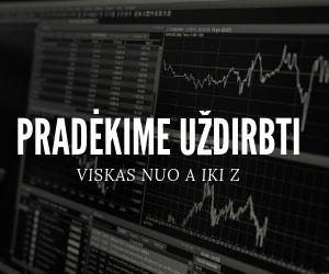Prekyba Forex rinkoje