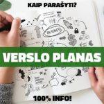 Verslo Planas: Kaip Parašyti? 100% Gidas!
