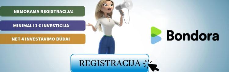 Bondora Registracija