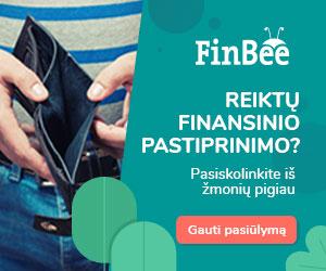 FinBee paskolos