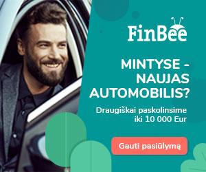 FinBee paskolos automobiliui