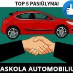 Paskola Automobiliui: TOP 5 Geriausi Pasiūlymai 2019 m.