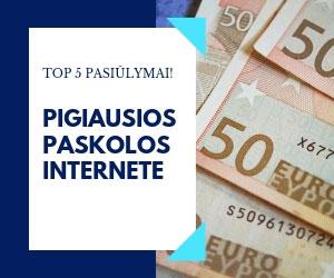 Pigiausios Paskolos Internete: TOP 6 Pasiūlymai Jums!