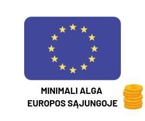 Minimali alga Europos Sąjungoje