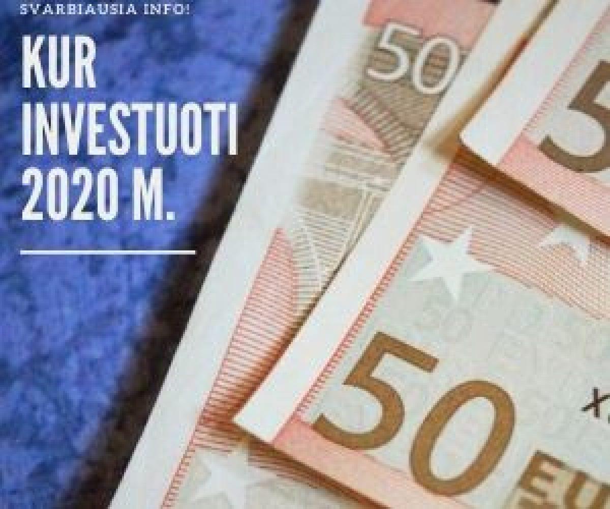 kaip investuoti euro kriptografij