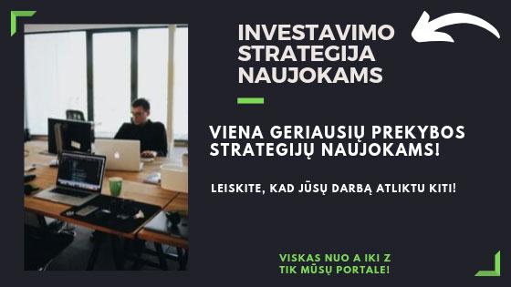 Investavimo Strategija Kaip Uzsidirbti