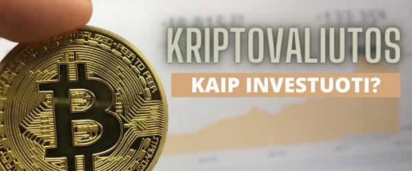Investavimas į kriptovaliutas