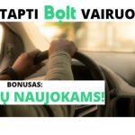 Kaip tapti Bolt vairuotoju?